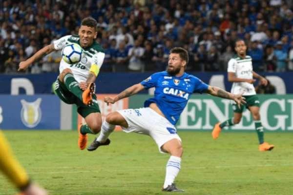Último confronto: Cruzeiro 1 x 0 Palmeiras - 30/5/2018