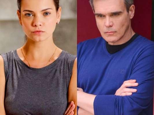 Luísa (Milena Toscano) nega que Sr. Pendleton (Dalton Vigh) é o seu grande amor do passado na novela 'As Aventuras de Poliana'