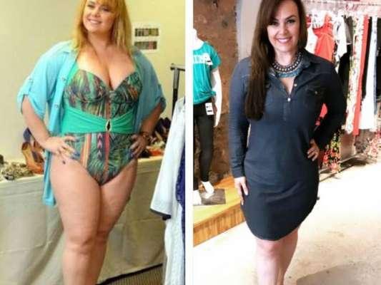 Ana Paula Almeida emagreceu 17 kg após treinos e reeducação alimentar