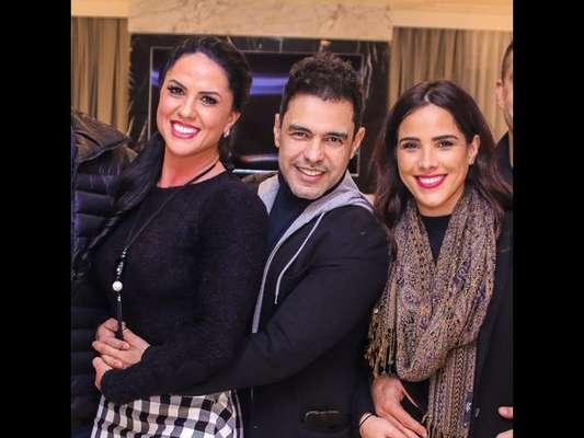 Wanessa Camargo começa a seguir Graciele Lacerda e namorado de Zilu na web nesta quinta-feira, dia 13 de setembro de 2018