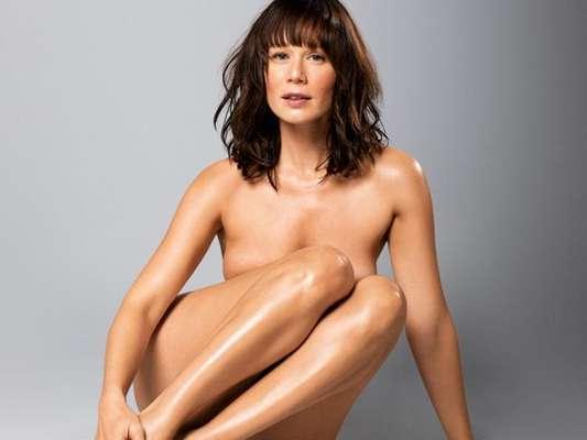 Mariana Ximenes tirou a roupa para a naked issue da revista 'Women's Health Brasil'