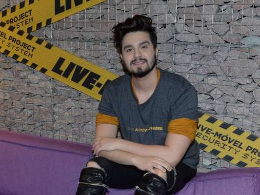 Luan Santana estuda nova temporada de 'Só Toca Top' com a Globo nesta sexta-feira, dia 14 de setembro de 2018