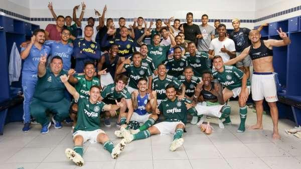 Finalista do Brasileiro sub-20, o Palmeiras acumula sucesso em outras categorias. 2018 já é o ano com mais títulos de base para o clube - 17 (dez deles no exterior), contra os 16 de 2017. O Verdão é, também, o time brasileiro com mais convocados para as seleções de base na temporada: 24.