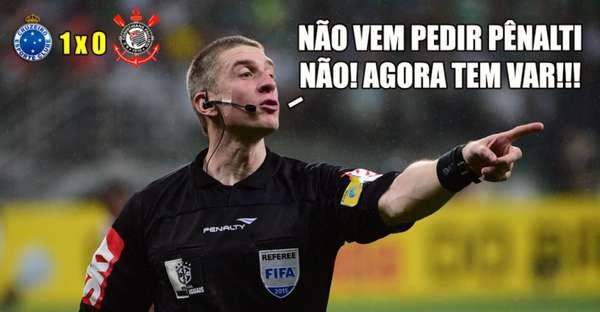 Copa do Brasil: os memes de Cruzeiro 1 x 0 Corinthians