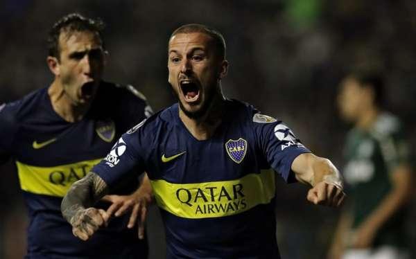 Benedetto fez os dois gols do Boca