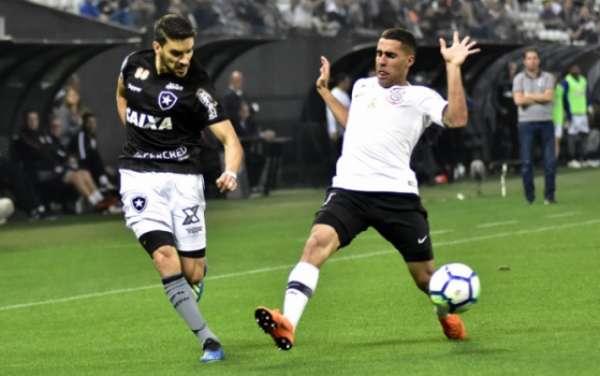 Último jogo: Corinthians 2 x 0 Botafogo - 18/7/2018