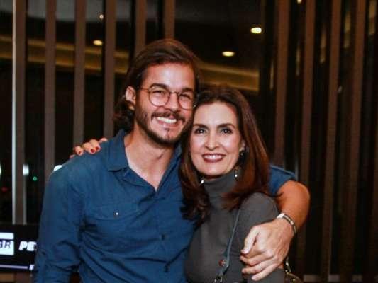 Fátima Bernardes contou que se surpreendeu com sentimento ao conhecer Túlio Gadêlha nesta quinta-feira, 8 de novembro de 2018