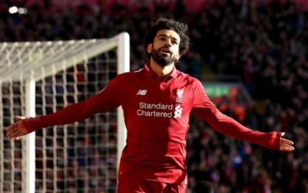Salah marcou o primeiro gol da partida