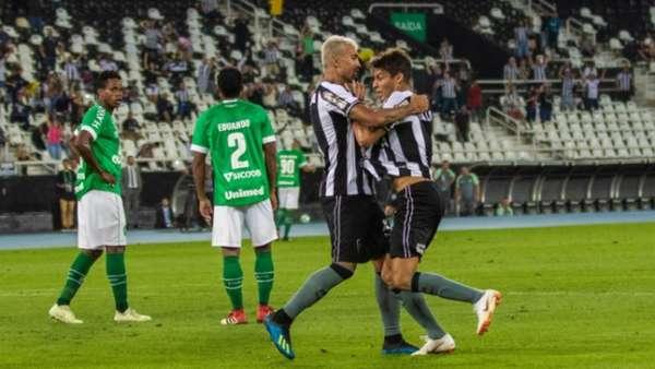 Último jogo: Botafogo 1 x 0 Chapecoense - 26/7/2018
