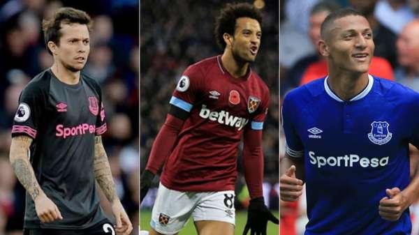 A renomada revista inglesa 'FourFourTwo' listou as dez melhores contratações da temporada até o momento na Premier League. Entre os nomes listados, três brasileiros receberam destaque, com direito a Richarlison em primeiro lugar. Confira!