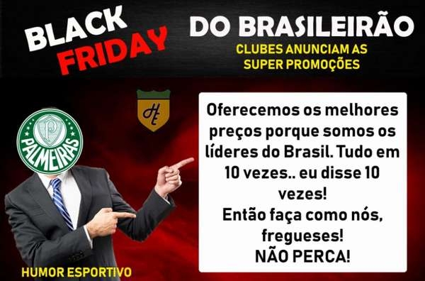 Black Friday dos clubes