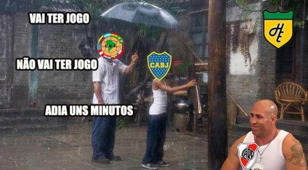 Boca x River: adiamento do jogo causa memes e piadas
