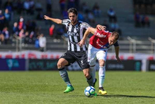 Último jogo: Paraná 1 x 1 Botafogo - 12/8/2018