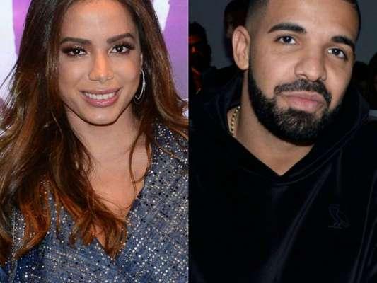 Anitta elege Drake como parceiro ideal em música no futuro em entrevista nesta terça-feira, dia 27 de novembro de 2018