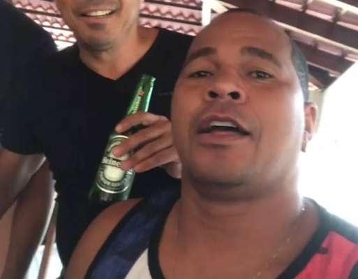 Aloísio Chulapa - Ex-jogador de futebol. 43 anos, natural de Atalaia, em Alagoas.