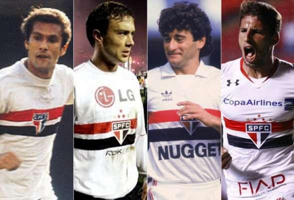 Pedro Rocha, Lugano, Darío Pereyra e Calleri são alguns gringos que brilharam com a camisa do São Paulo na história