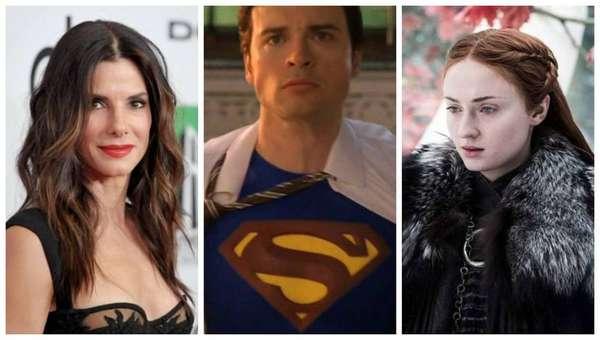 Sandra Bullock, Tom Welling e Sophie Turner - Os atores Sandra Bullock, Tom Welling e Sophie Turner.
