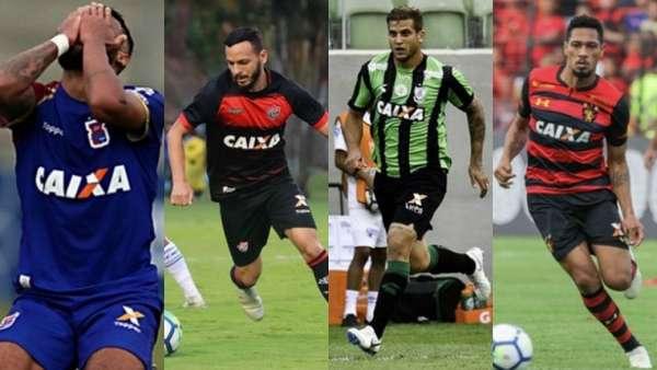 Paraná, Vitória, América-MG e Sport foram os rebaixados na edição 2018 do Brasileirão, mas nenhum deles está no topo do ranking de mais rodadas no Z4 na era dos pontos corridos. O Atlético-PR é o recordista, seguido por Figueirense e Atlético-GO. Veja a seguir a lista completa