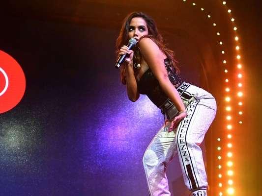 Anitta fez sua estreia no Madison Square Garden, em Nova York, nos Estados Unidos, na noite desta quarta-feira, 5 de novembro de 2018
