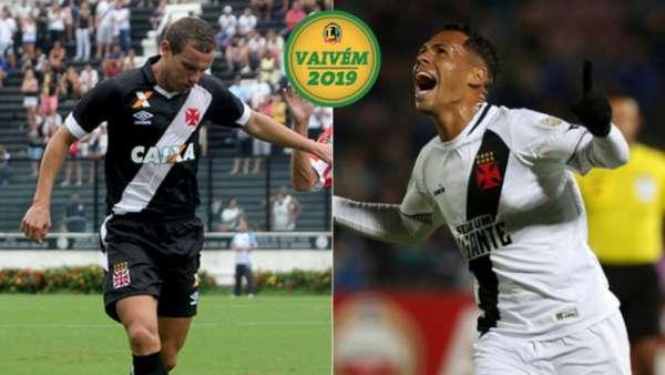 Marcelo Mattos e Bruno Silva terão seus contratos renovados e foram confirmados no Vasco em 2019. Veja galeria L!