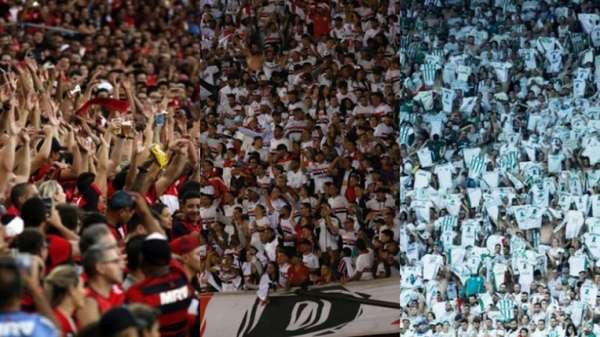Mais de sete milhões de torcedores pagaram ingresso para assistir aos jogos do Brasileirão-2018, média de 18.834 por partida, a maior da era dos pontos corridos. Muito disso graças aos duelos do Flamengo como mandante, clube que liderou o quesito público pagante da competição, seguido por São Paulo, Palmeiras, Corinthians e Ceará. Confira a tabela na galeria a seguir