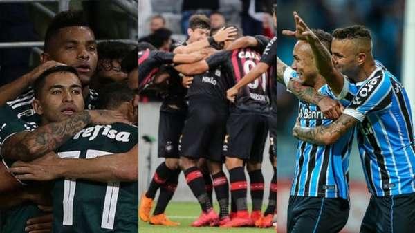 Palmeiras, Atlético-PR e Grêmio foram os únicos clubes de Série A a marcarem mais de cem gols em jogos oficiais na temporada 2018. O Paraná, por sua vez, teve o pior ataque e anotou pouco mais de 30 tentos. Confira, a seguir, a galeria com os dados dos 20 times durante o ano