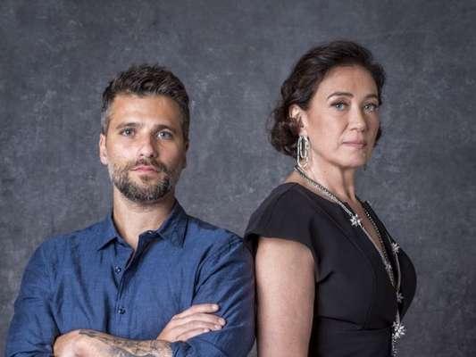 Gabriel (Bruno Gagliasso) encara a mãe, Valentina (Lilia Cabral), e acaba ameaçado de morte por ela nos próximos capítulos da novela 'O Sétimo Guardião': 'Sou capaz de destruir qualquer um que se atravessar no meu caminho. Incluindo você!'