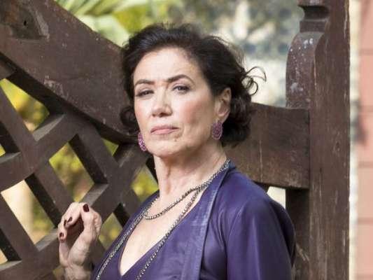 Valentina (Lilia Cabral) vai se chocar ao descobrir que León (Eduardo Moscovis) se transforma em ser humano nos próximos capítulos da novela 'O Sétimo Guardião': 'Loucura!'