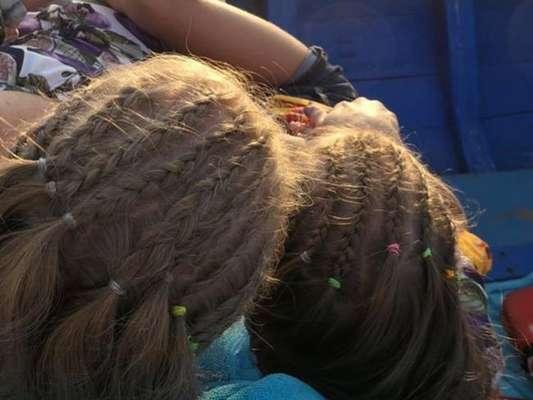 Filha de Angélica apareceu com trança nagô no cabelo e Xuxa elogiou: 'Eva linda'