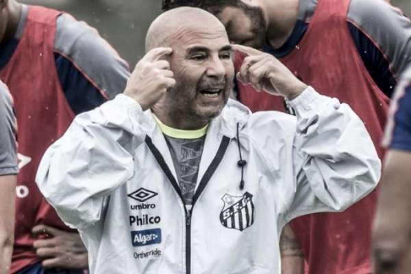 Mentalidade e intensidade: Jorge Sampaoli espera do Santos um time ofensivo, que priorize a posse de bola