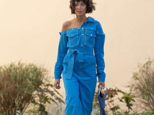 Macacão: jeans essencial