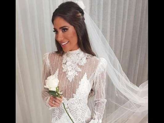 Vestido de noiva de Romana Novais
