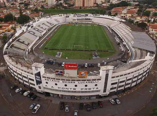 O tradicional estádio Moises Lucarelli, em Campinas, será a casa da Ponte Preta e também receberá os jogos do Red Bull Brasil neste Campeonato Paulista