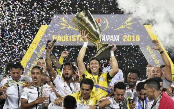 Corinthians faturou o Paulistão em 2018