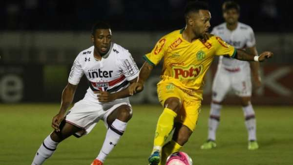 Última partida (24/1/2018): Mirassol 0x2 São Paulo - Paulistão 2018