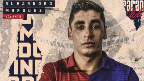 Alejandro Marquez foi anunciado no dia 5 de janeiro pelo Paraná