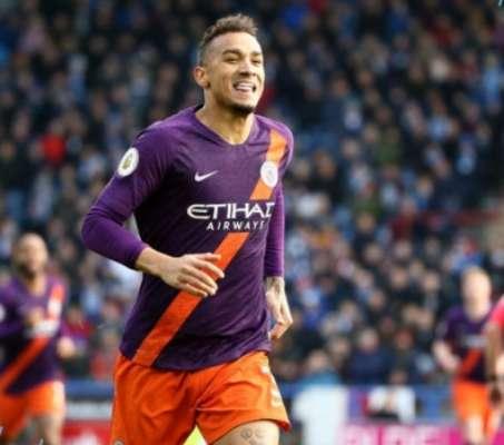 Danilo fez o centésimo gol do City na temporada