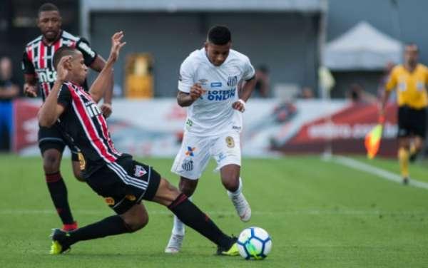 Último confronto: Santos 0 x 0 São Paulo - 16/09/2018 - Vila Belmiro - 25ª rodada do Campeonato Brasileiro