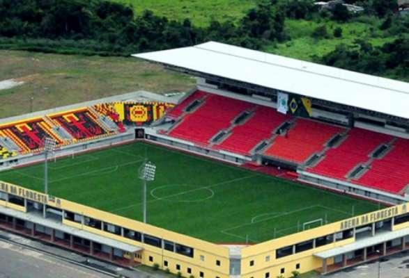 Arena da Floresta abrigará Galvez-AC x ABC e Rio Branco-AC x Bahia na primeira fase da Copa do Brasil