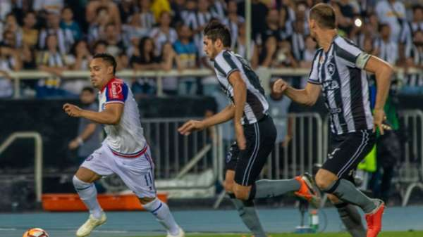 3/10/2018 - Último jogo pela Sul-Americana: Botafogo 2(4)x(5)1 Bahia - O Glorioso nunca enfrentou o Defensa y Justicia (ARG)