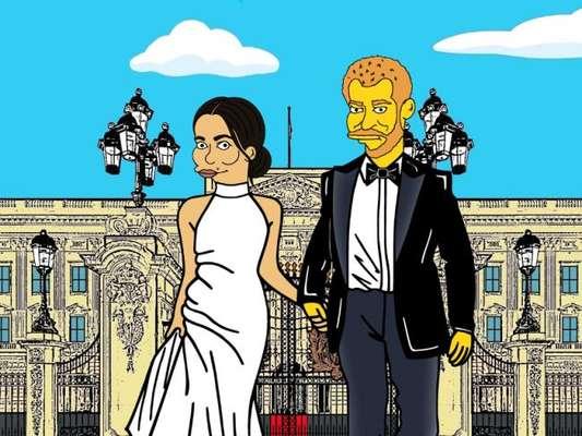 Duquesa virou Simpson: italiano cria 'Meghan Markle' estilizada. Confira os looks reais e os desenhos na galeria a seguir, nesta sexta-feira, dia 06 de fevereiro de 2019