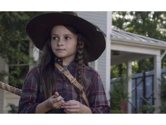 """Em """"The Walking Dead"""", na 9ª temporada: Judith (Cailey Fleming) rouba a cena durante retorno da série"""