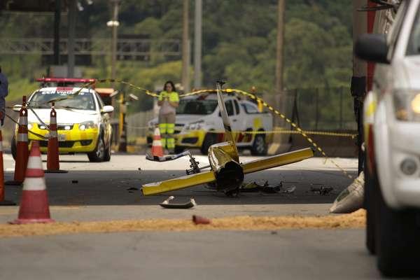 Veja imagens do acidente que causou a morte de Boechat