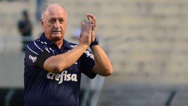 Felipão fez muitos elogios à atuação do Palmeiras