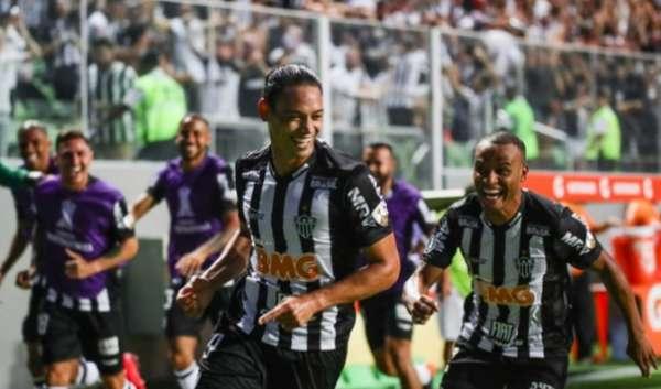 Atlético MG 3 x 2 Danubio: as imagens da partida