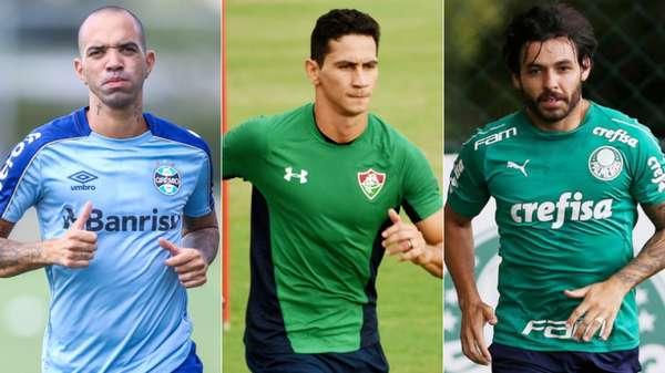 Muitos grandes clubes do Brasil buscaram no exterior jogadores de renome para reforçar os seus elencos. A aposta nos medalhões foi uma das tônicas do mercado da bola nacional no início de 2019. Confira, a seguir, craques que chegaram para disputa da atual temporada.