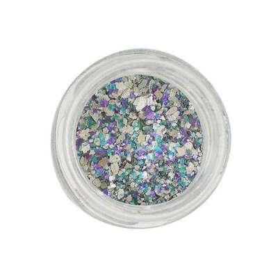 Glitter para o carnaval - Glitter Natural e Biodegradável 1g tonalidade Sereia, Pura Bioglitter, R$11,50 vendido no Submarino e Lojas Americanas