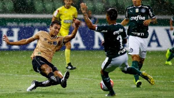 No início do jogo, muita chuva