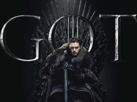 """De """"Game of Thrones"""": Jon Snow (Kit Harington) ocupa o Trono de Ferro em imagem promocional!"""