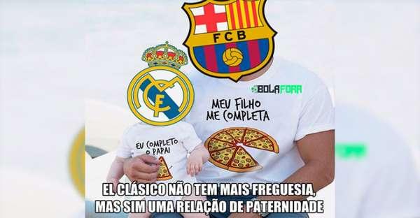 Os melhores memes da vitória do Barcelona sobre o Real Madrid